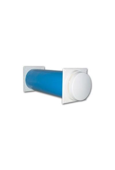 Nawiewnik ścienny-termostatyczny FRESH 100 Thermo-dB kpl.