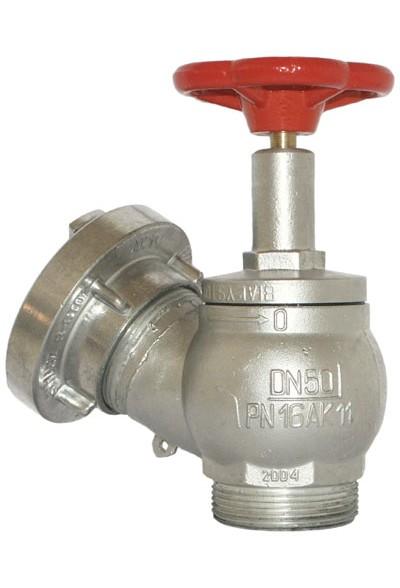 Zawór hydrantowy ZH-52 typ ZH-52 - Wentylacje i instalacje sanitarne