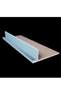 Półka sufitowa na oświetlenie LED (pojedyncza) 25 CM Długość 120 CM