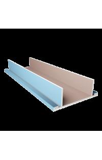 Półka sufitowa na oświetlenie LED (podwójna) 45 CM - Sufity podwieszane