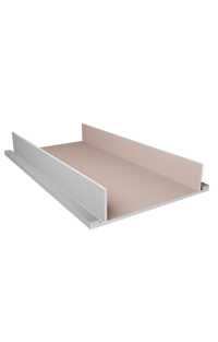 Półka sufitowa na oświetlenie LED (podwójna) 70 CM - Sufity podwieszane