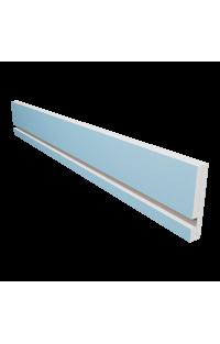 Osłona karnisza z wnęką na oświetlenie LED 15,5 CM X 2,7 CM Długość 120 CM