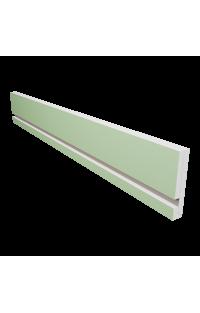 Osłony karnisza z wnęką na oświetlenie LED 15,5 CM X 2,7 CM Długość 120 CM