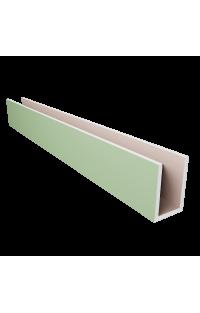 Profil U 15,5 CM X 10 CM X 15,5 CM Długość 120 CM - Wnęki oświetleniowe - System uszczelniający