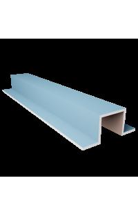 Profil omega 10 CM X 14,5 CM X 10 CM Długość 120 CM - Wnęki oświetleniowe