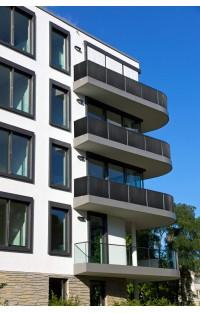 OSŁONA BALKONOWA Z TECHNORATTANU - Osłony balkonowe z technorattanu